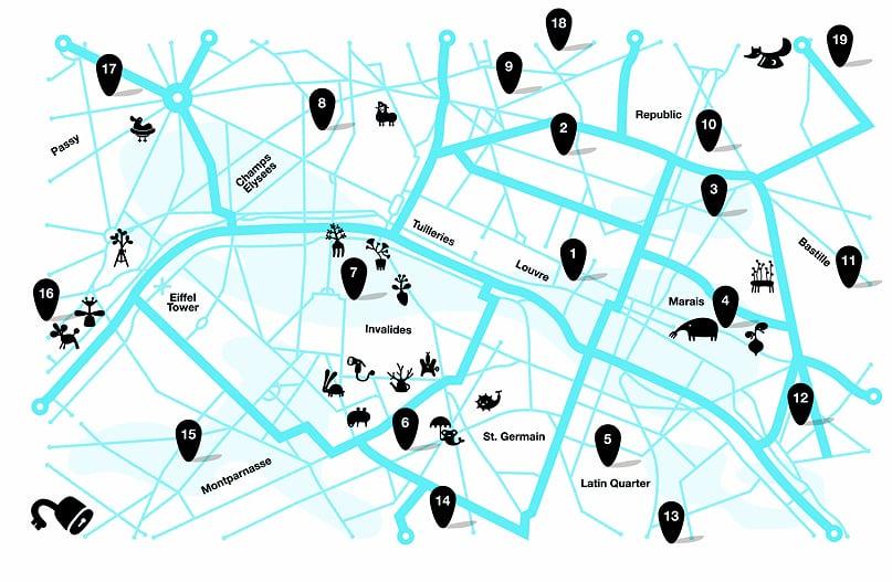 N4 Paris Map