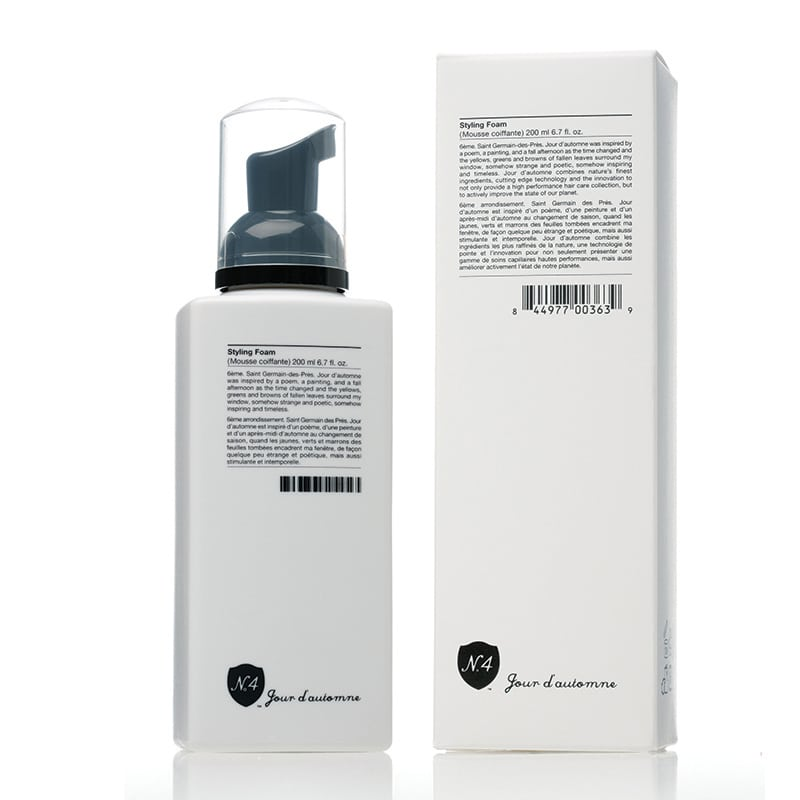 Hair Styling Foam Endearing Styling Foam  Number 4 High Performance Hair Care
