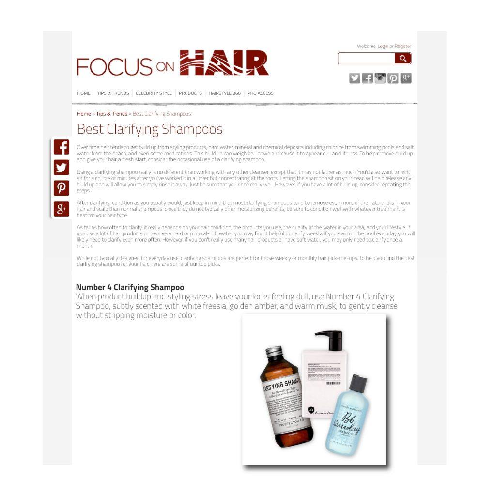 0716 Focus On Hair Clipweb 01 Number 4 High Performance Hair Care