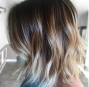 Balayage, natural highlights, hair color, ombre