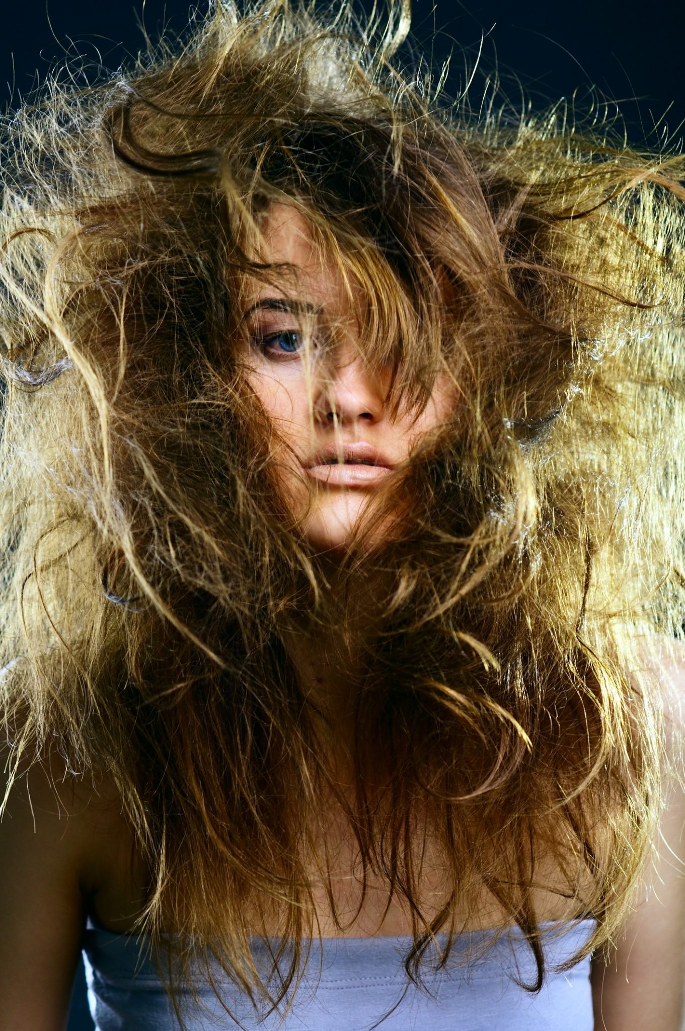 how to control your hair