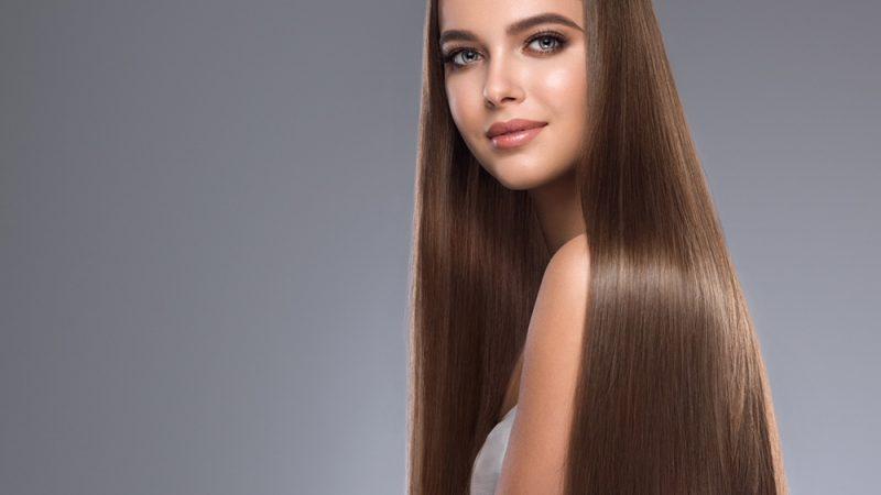 Sleek, shiny, healthy hair